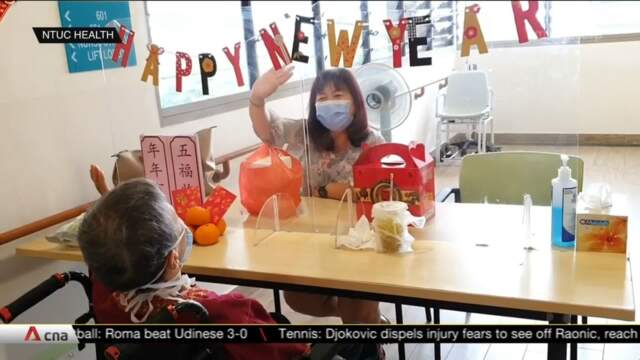 Some nursing home residents not staying with family over Chinese New Year | Video